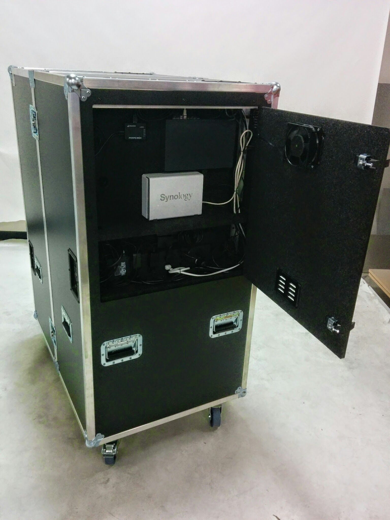Sators Workbox Production Office Road Case Inside The