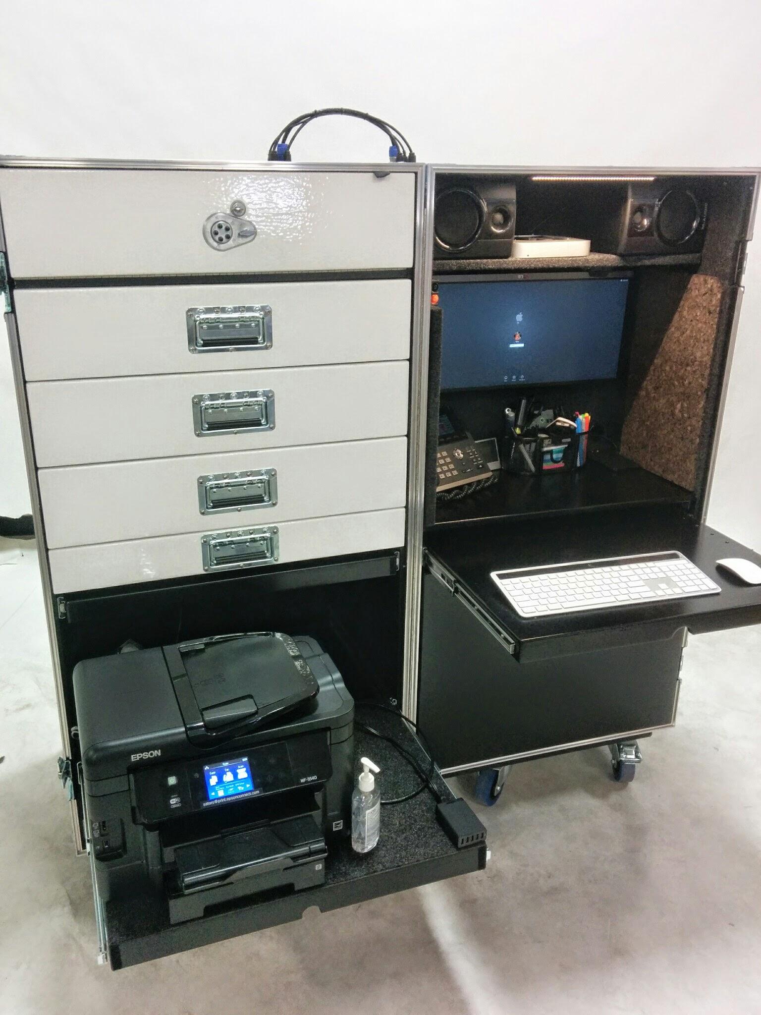 Sators Workbox Production Office Road Case Inside The